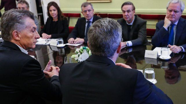 Pichetto participa de la reunión de gabinete