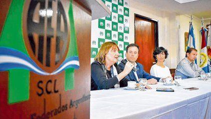 Un clásico. Agricultores Federados Argentinos, el Ministerio de Producción y Agroactiva, juntos en el agro.