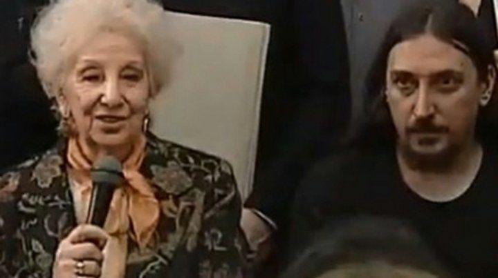 Estela de Carlotto: Con felicidad anunciamos una nueva restitución de identidad.