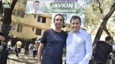 Pablo Javkin recibió el apoyo del neurocientífico Facundo Manes.