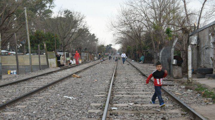 Las vías requieren trabajos de mantenimientos en varios puntos.