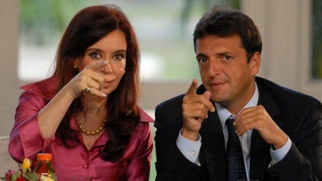 Cristina dijo que le gustó mucho el video que lanzó Massa