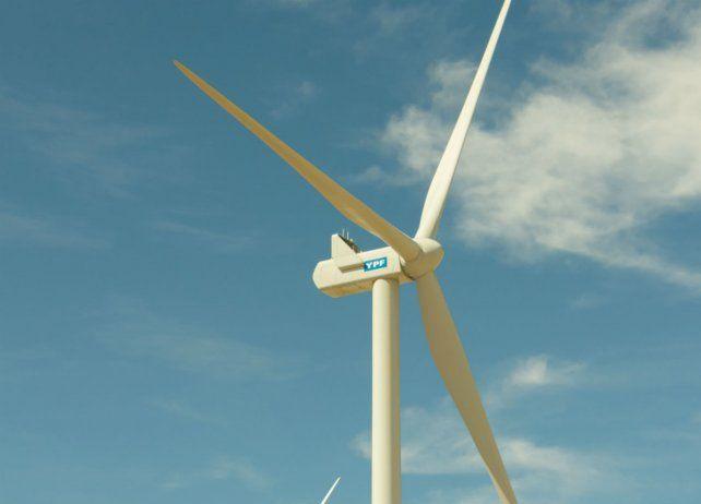 Electricidad. El parque eólico funciona a pocos kilómetros de Comodoro Rivadavia.