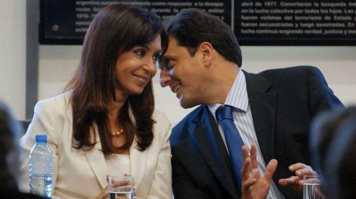 El álbum. CFK y Massa