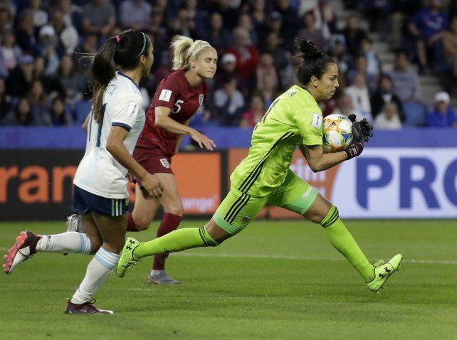 Figura. Vanina Correa la rompió contra Inglaterra y se llevó todos los elogios.