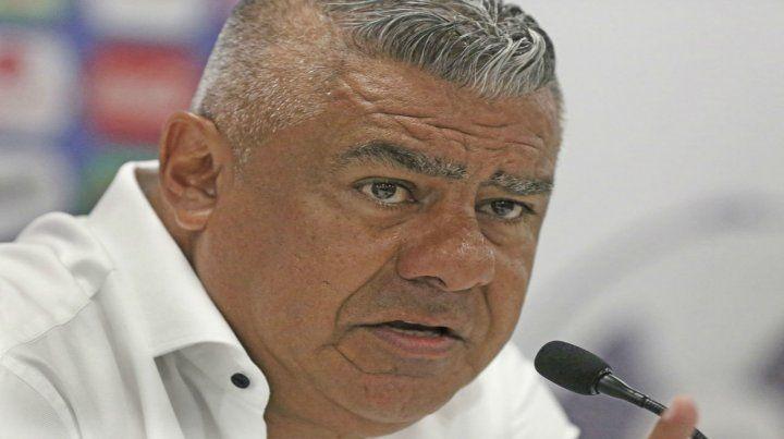 El presidente de la AFA. Tapia quiere que los promedios se saquen lo antes posible.