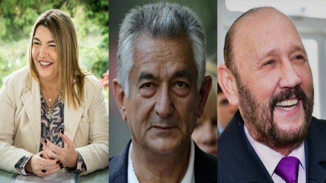 Tierra del Fuego. Rosana Bertone.San Luis. Alberto Rodríguez Saa. Formosa. Gildo Insfrán.