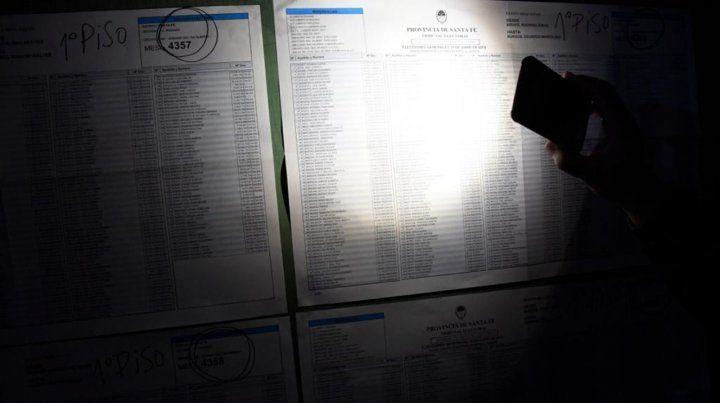 El corte de luz masivo no afectó los comicios en Rosario