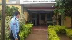 La penitenciaría de San Pedro, al norte de la capital paraguaya.
