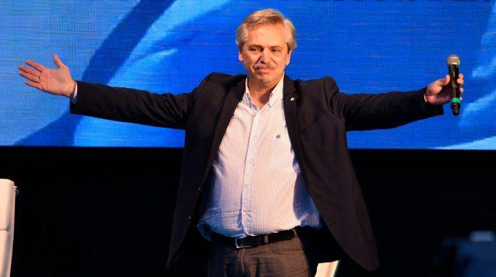 Alberto Fernández celebró el triunfo de Perotti en Santa Fe