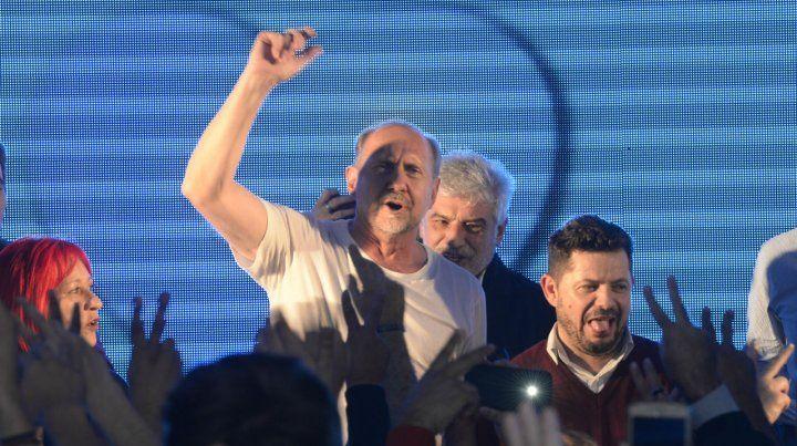 Perotti dio rienda suelta a la alegría.