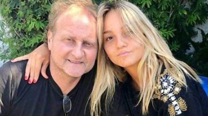 Sergio Gendler con su hija Bárbara.