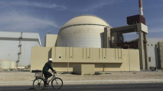 Activo. El reactor de Bushehr. Irán cuadruplicó su producción de uranio.