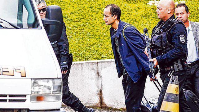 Adentro. Marcelo Odebrecth fue detenido el 19 de junio de 2015. Desató un terremoto incalculable.