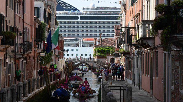Venecia no quiere convertirse en un parque temático