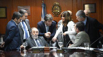 pichetto no fue a la reunion del consejo de la magistratura