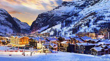 Un centro de ski para visitar al menos una vez en la vida