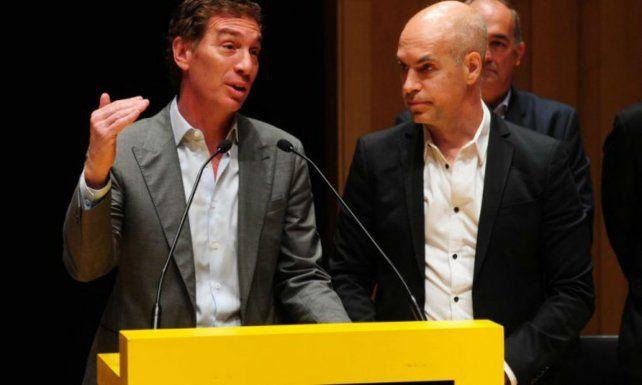 Horario Rodríguez Larreta repetirá la fórmula junto a Diego Santilli para retener el poder en Capital.