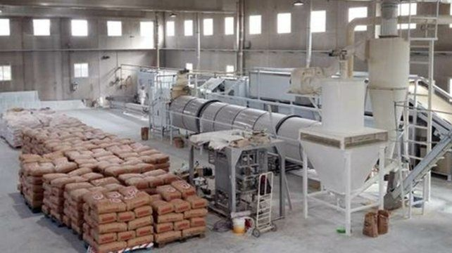 Nuevo espacio. La planta de Bombal ocupa 840 metros cuadrados.