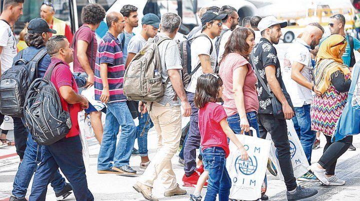 no me llames extranjero. Las cifras se dieron a conocer porque hoy es el Día Mundial de los Refugiados.