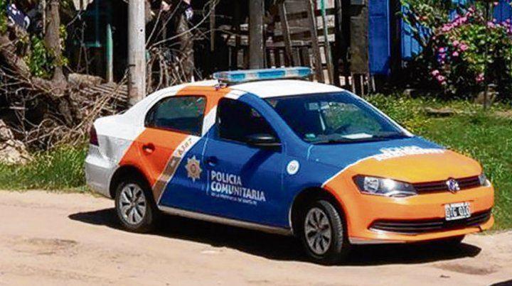 búsqueda. Una patrulla de la Policía Comunitaria atrapó al policía.