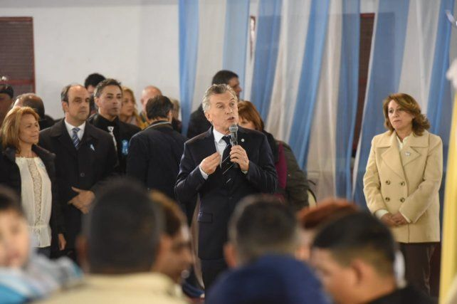 Macri ratificó en un breve acto que no quiere más ejercicio patotero del poder