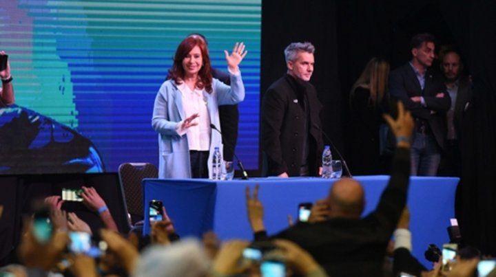 En Escena. Cristina Fernández de Kirchner dialogó con el escritor y periodista Marcelo Figueras sobre su libro y su experiencia en el poder.