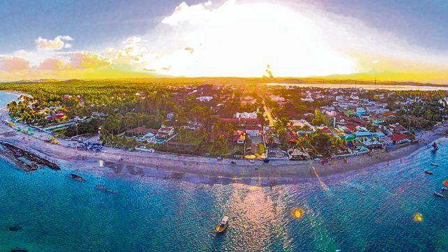 Elegido. El balneario Porto de Galinhas es el quinto destino de placer más visitado del país y el primero del Estado de Pernambuco.