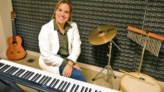 Recuperación neurológica. La musicoterapeuta Sabrina Carini
