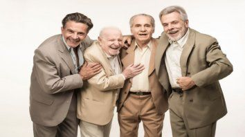 Osvlado Laport, Pepe Soriano, Hugo Arana y Víctor Laplace interpretan la obra.