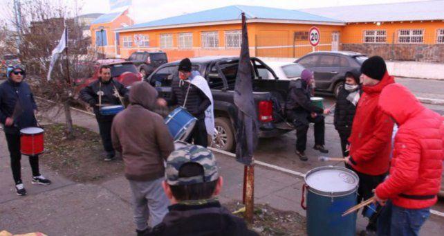 Los empleados cesanteados en Tierra del Fuego.