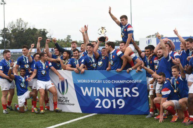 Francia, otra vez campeón del Mundial de rugby M20