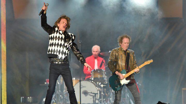 Inoxidables. Así se los vio a los Rolling Stones el viernes a la noche en Chicago
