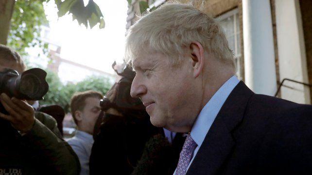 Una discusión en la casa de Boris Johnson llega a la prensa