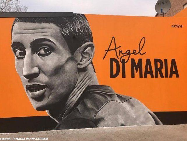 Di María fue homenajeado donde empezaron sus sueños