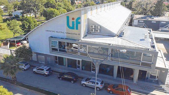 LIF. Una parte del Laboratorio Industrial Farmacéutico