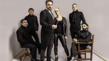 Solidarios. Los integrantes del grupo New Beats fueron distinguidos por el Concejo.