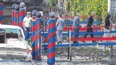 glamour. Obama y Clooney, de paseo por las aguas del Lago de Como.