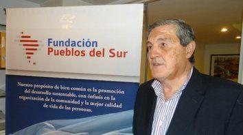 Referente. El economista Daniel Guida es cercano a Omar Perotti.