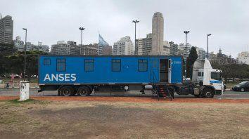 La oficina móvil de Ansés estará hasta el viernes en Rosario