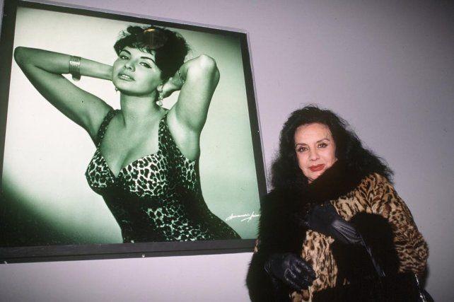 Falleció la Coca Sarli, un ícono del cine argentino
