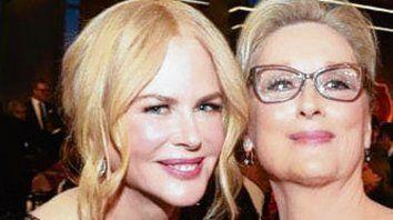 Meryl Streep y Nicole Kidman encabezarán un musical de Netflix