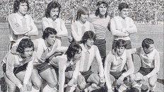 Pura cepa rosarina. Ocho de los once titulares que enfrentaron a Venezuela en Rosario en 1975 jugaron en nuestra ciudad