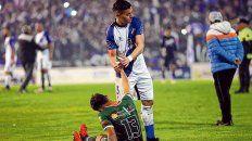 Por el piso. Así quedaron los jugadores de San Jorge, tras la final por el ascenso a la BN en Mar del Plata.