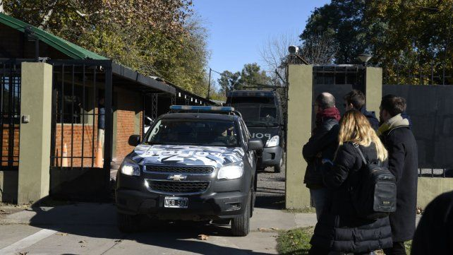 El hermanastro de Alvarado se presentó en el cuartel de la TOE.