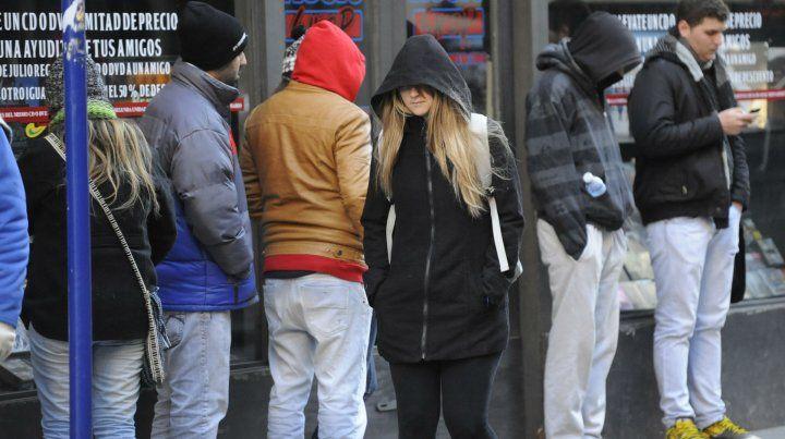 Rosario y la región reciben el día más frío del año con sensación térmica bajo cero