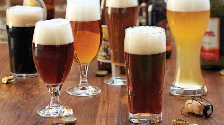 Tres marcas de cervezas importadas