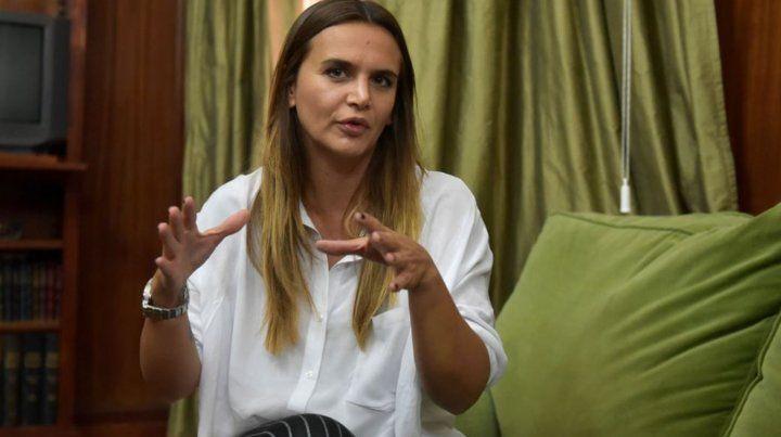 Amalia Granata aclaró que no tiene nada que ver con la candidatura de Espert