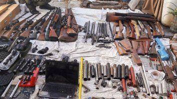 Realizaron el secuestro de armas más grande de la Argentina