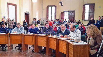 En la mira. El monto elevado de los salarios del actual Concejo de Venado Tuerto generó una gran polémica en los últimos días en la ciudad.